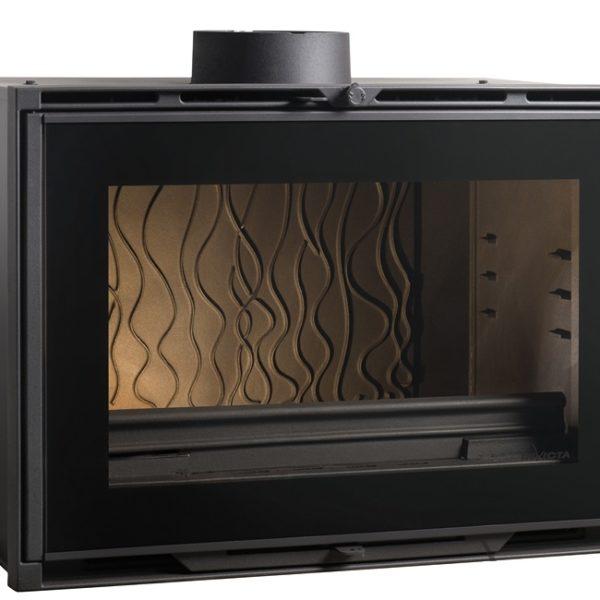insert 800 grand angle chemin es contemporaines fabricant de chemin es inserts et po les au. Black Bedroom Furniture Sets. Home Design Ideas